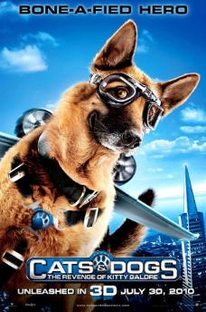 猫狗大战2 高清 原版电影海报图片
