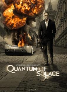 电影海报007余温之恋图片
