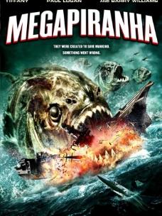 巨型食人鱼 高清原版电影海报图片