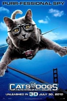 猫狗大战2 高清原版电影海报图片