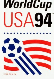 1994年美国世界杯海报图片