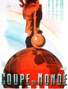 1938年法国世界杯海报图片