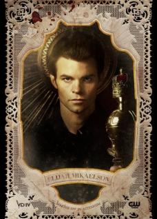 吸血鬼日记人物海报 伊利亚图片