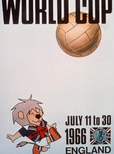 1966年英格兰世界杯海报图片