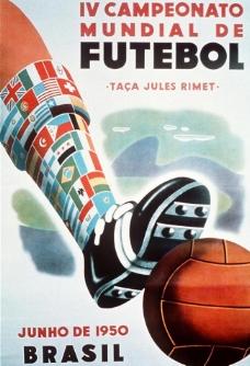 1950年巴西世界杯海报图片