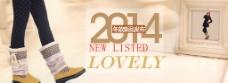 2014淘宝女靴广告图片