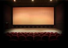 电影院空间背景PSD设计素材