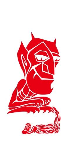 logo logo 标志 剪纸 设计 图标 228_567