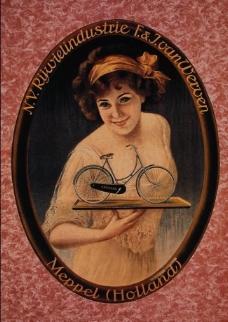 经典自行车广告图片