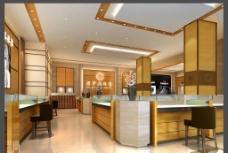 珠宝店设计3d效果图图片