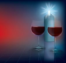 葡萄酒怀旧图片