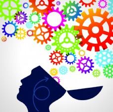 创意大脑概念