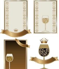葡萄酒标签图片