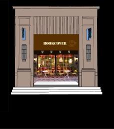 咖啡屋橱窗设计