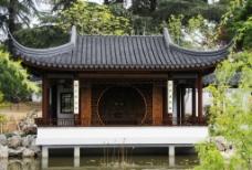 中式亭台图片