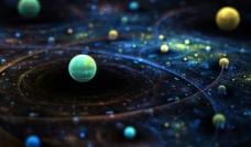 星球运行图片