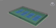 网球场图片