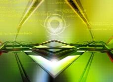 绿色背景设计素材