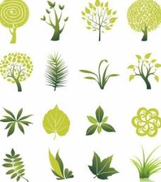 树 树叶 草图片