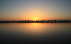清晨风景图片