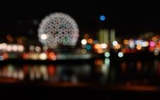 温哥华夜景图片