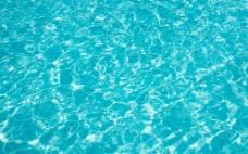 蓝色水面图片