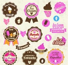 冰淇淋标签图片