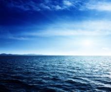 海边背景海水蓝天