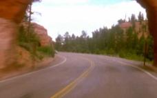 道路风光视频素材