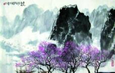 杏花春雨图片