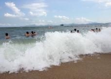 玫瑰海岸沙滩图片
