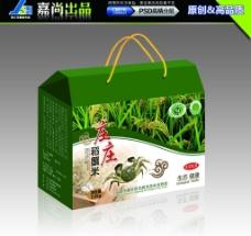 礼盒 大米 稻蟹米图片