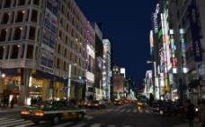 日本东京银座街区图片