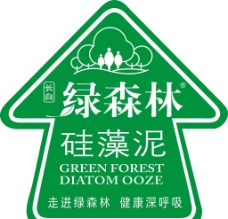 绿森林硅藻泥地贴图片