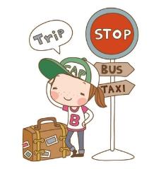 旅行 卡通儿童图片