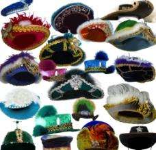 贵夫人女士帽子图片
