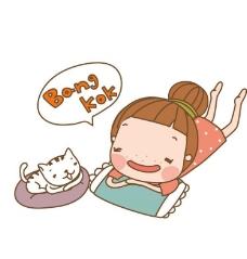 睡觉 卡通儿童图片