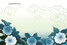 印象国画牡丹中国风PPT模板