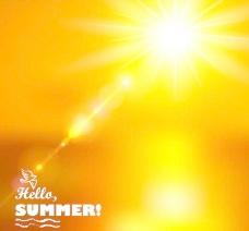 金色阳光图片