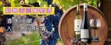 葡萄酒高清广告效果图