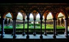 欧洲教堂内景图片