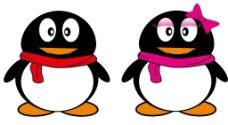企鹅矢量图图片