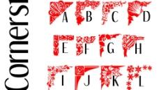 经典英文字体图片
