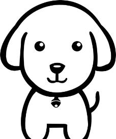 狗狗简笔画图片大全