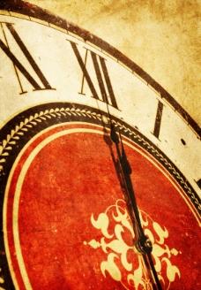 复古钟表背景——高清图片