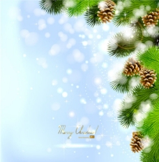 精美圣诞节背景02——矢量素材