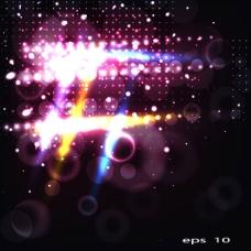 璀璨星光背景04—矢量素材