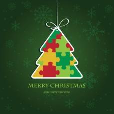 精美圣诞标签03——矢量素材