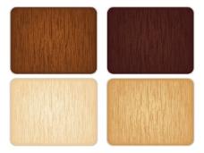 4种色彩木纹背景矢量素材