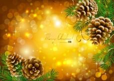 精美圣诞节背景03——矢量素材